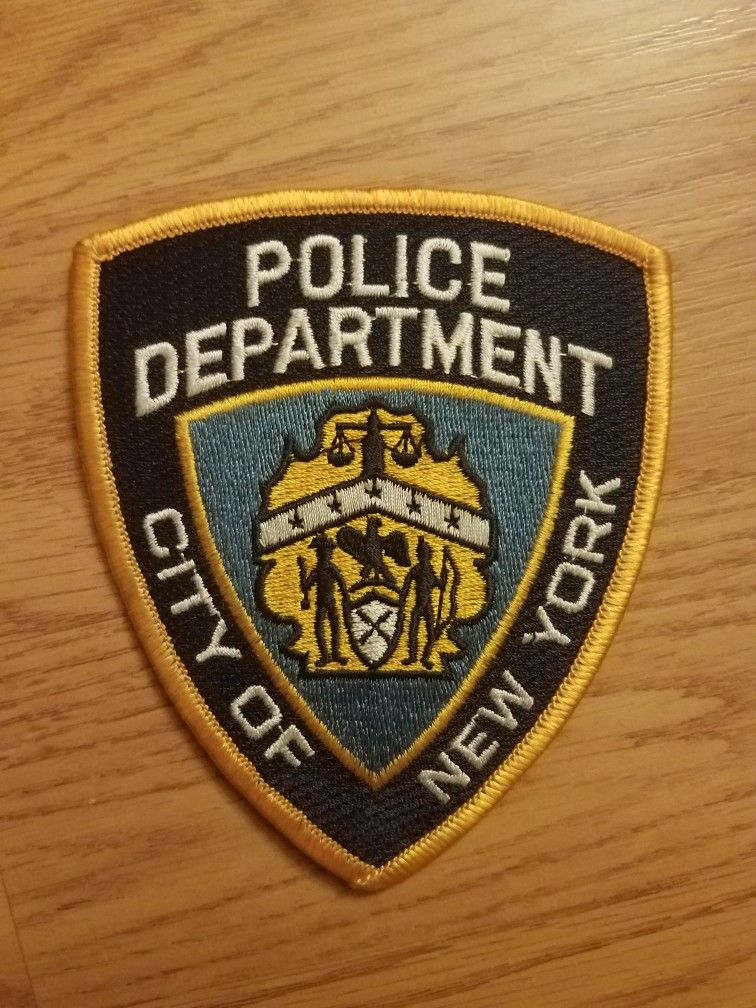 Pin by Jeff Hamilton on my new york police patch