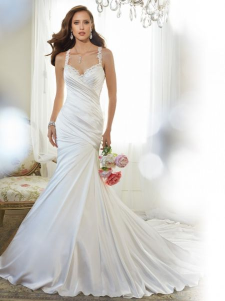 Sophia Tolli 2015: Vestidos de novia inspirados en un suave romance ...