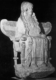 Figura 1: La Dama de Baza después de su restauración