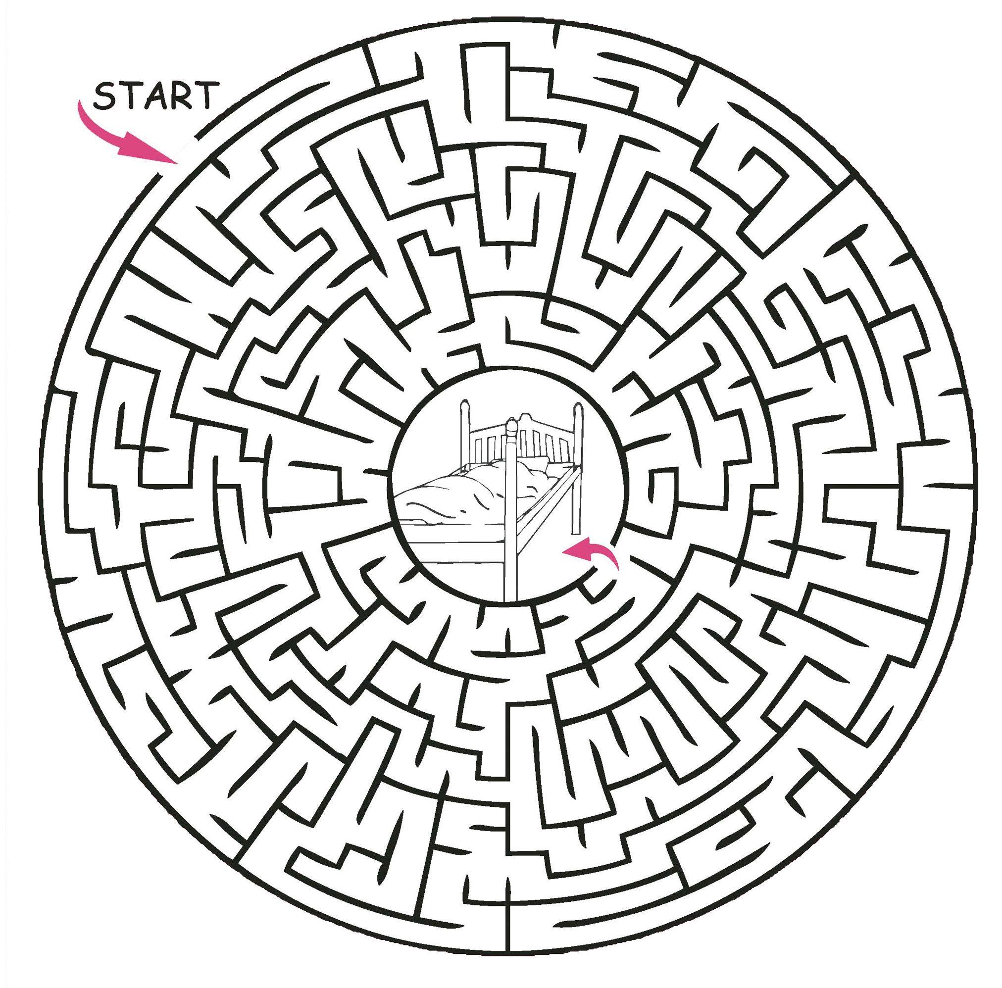 Printable Maze Puzzles