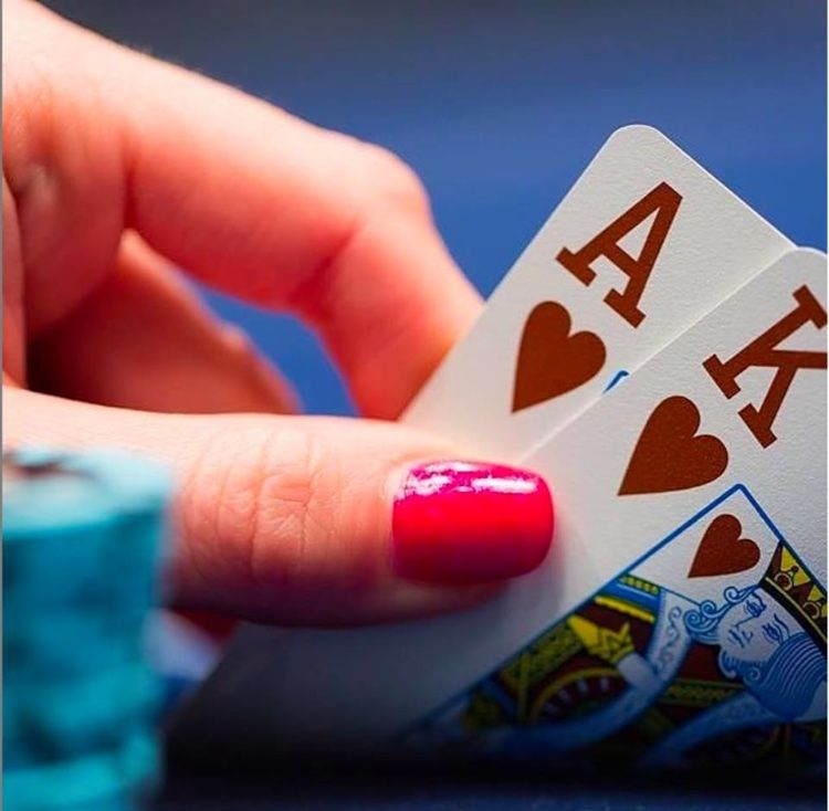 Big Slick of hearts \ufe0f come join us for some poker tonight! | Poker room, Poker, Best casino