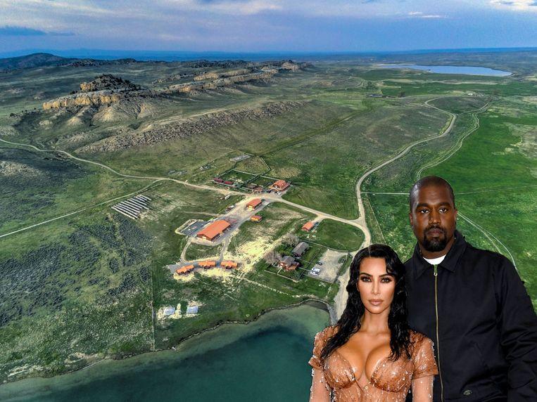Binnenkijken Kanye West Koopt Een Immense Ranch Kanye West Kim Kardashian Kardashian