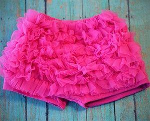 Chiffon Ruffle Shorts - In 4 fun colors! $5.99