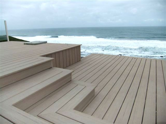 Moistureshield Composite Decking In Desert Sand Composite Decking Building A Deck Deck