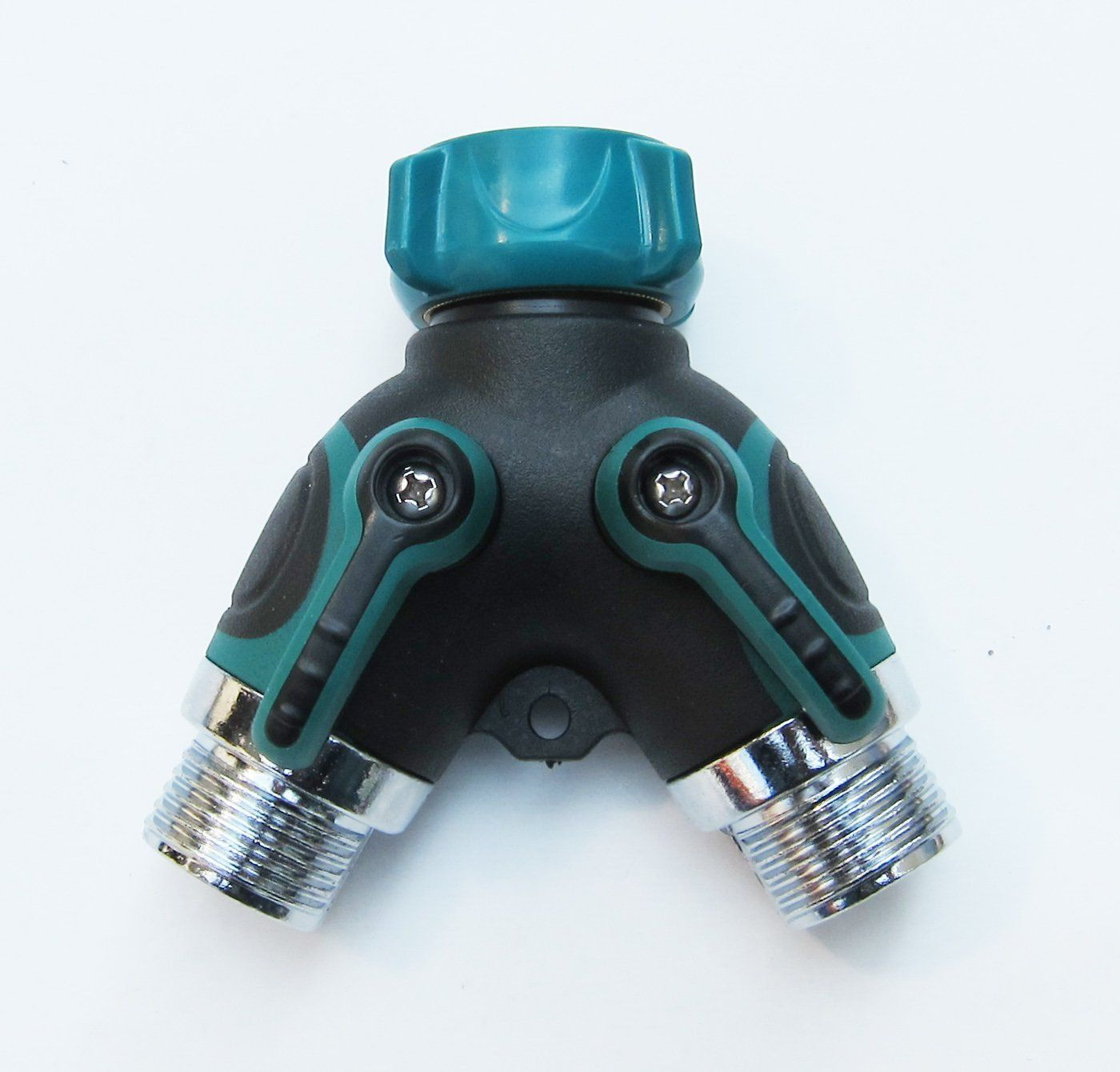 3Way Garden Hose Connector, 3Way Shut Off Valve, Quick