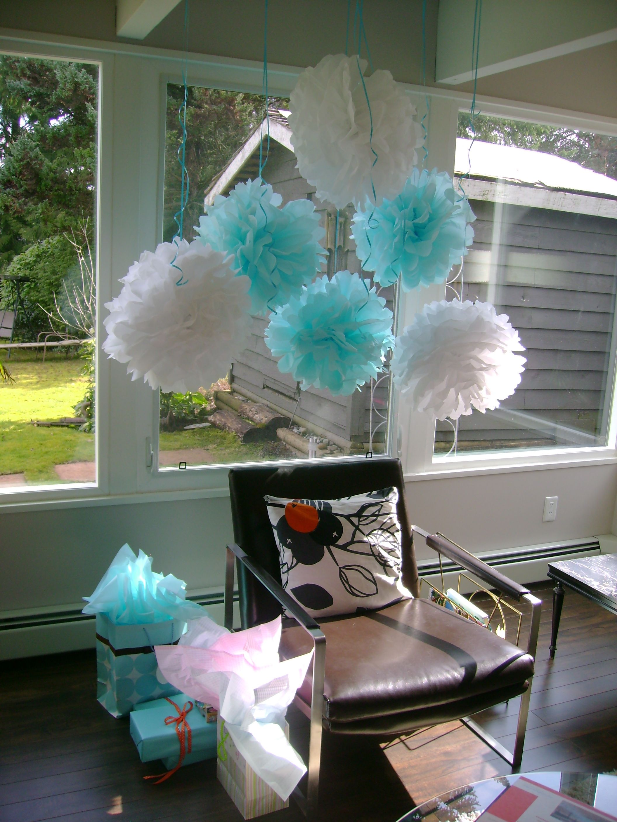 Mom to be decorated baby shower chair Party Ideas