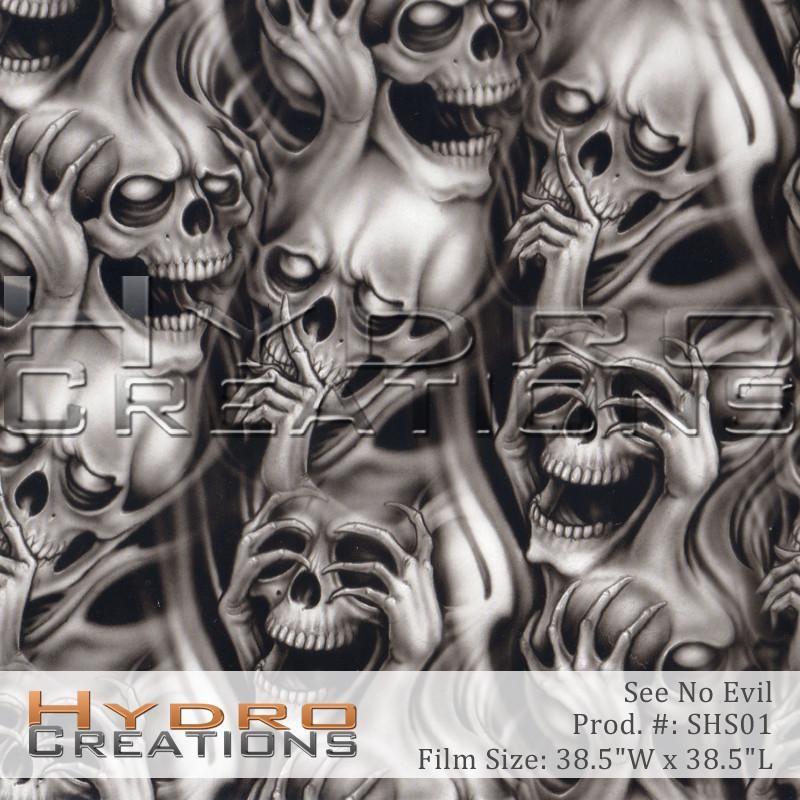 See Hear Speak No Evil With Images Demon Tattoo Scary Tattoos Evil Skull Tattoo