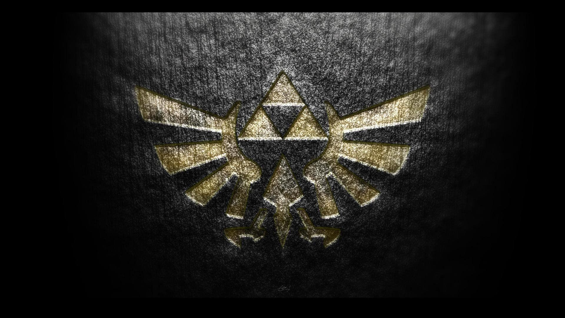 Hyrule The Legend Of Zelda Hyrule Crest Wallpaper 1920x1080 295497 Zelda Hd Background Images Hd Legend Of Zelda