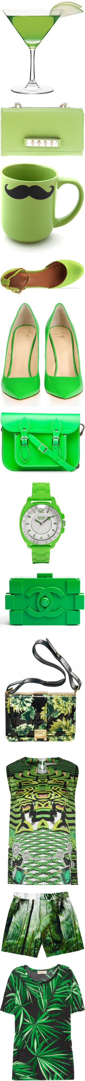 """""""think green-act greeen"""" by bosssa-nova ❤ liked on Polyvore"""