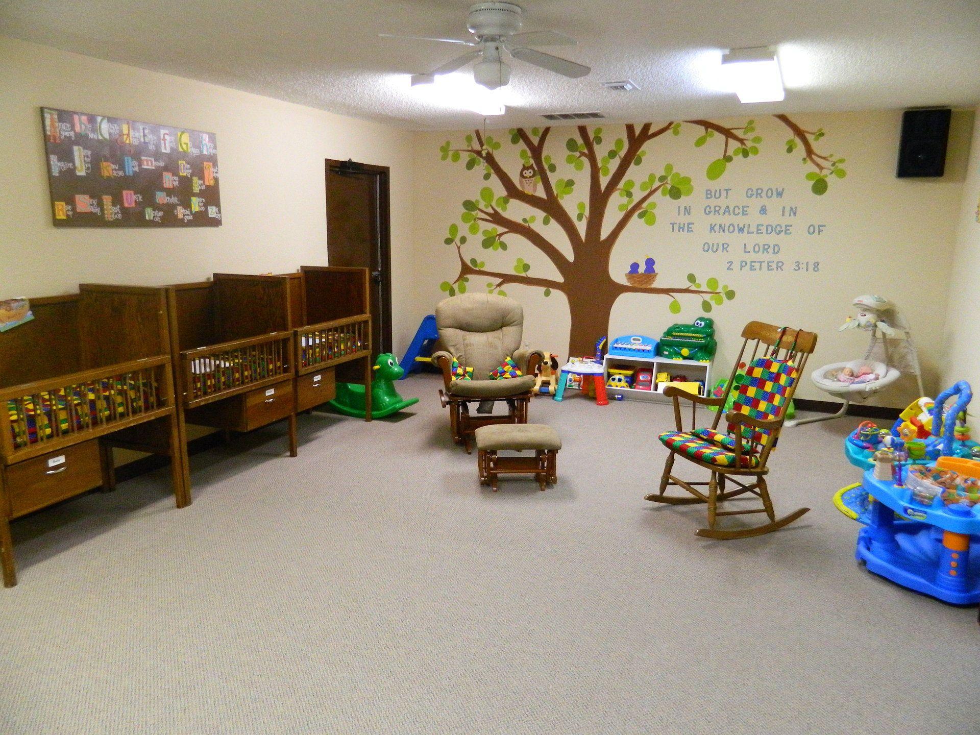 Church Nursery Ideas Decor In Arlington Texas