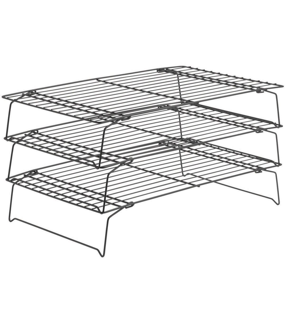 Wilton Perfect Results 3 Tier Cooling Rack Cooling Racks Cake Decorating Tools Wilton