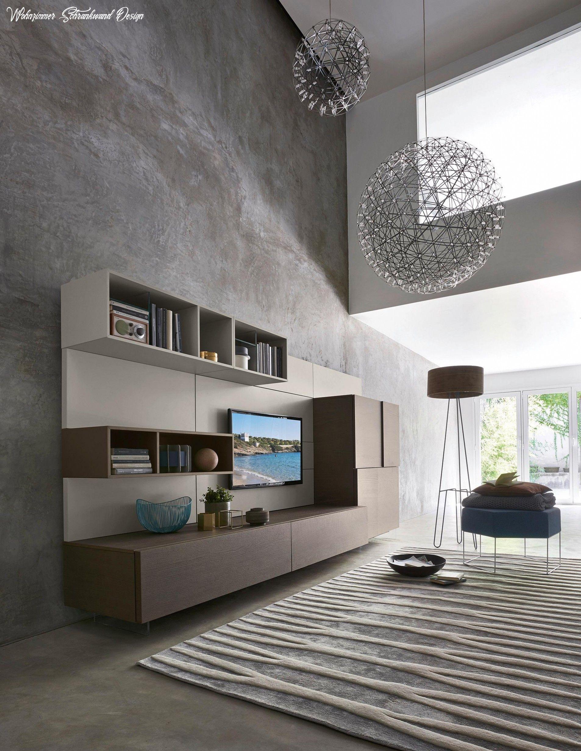 9+ Wohnzimmer Schrankwand Design Ideen di 9