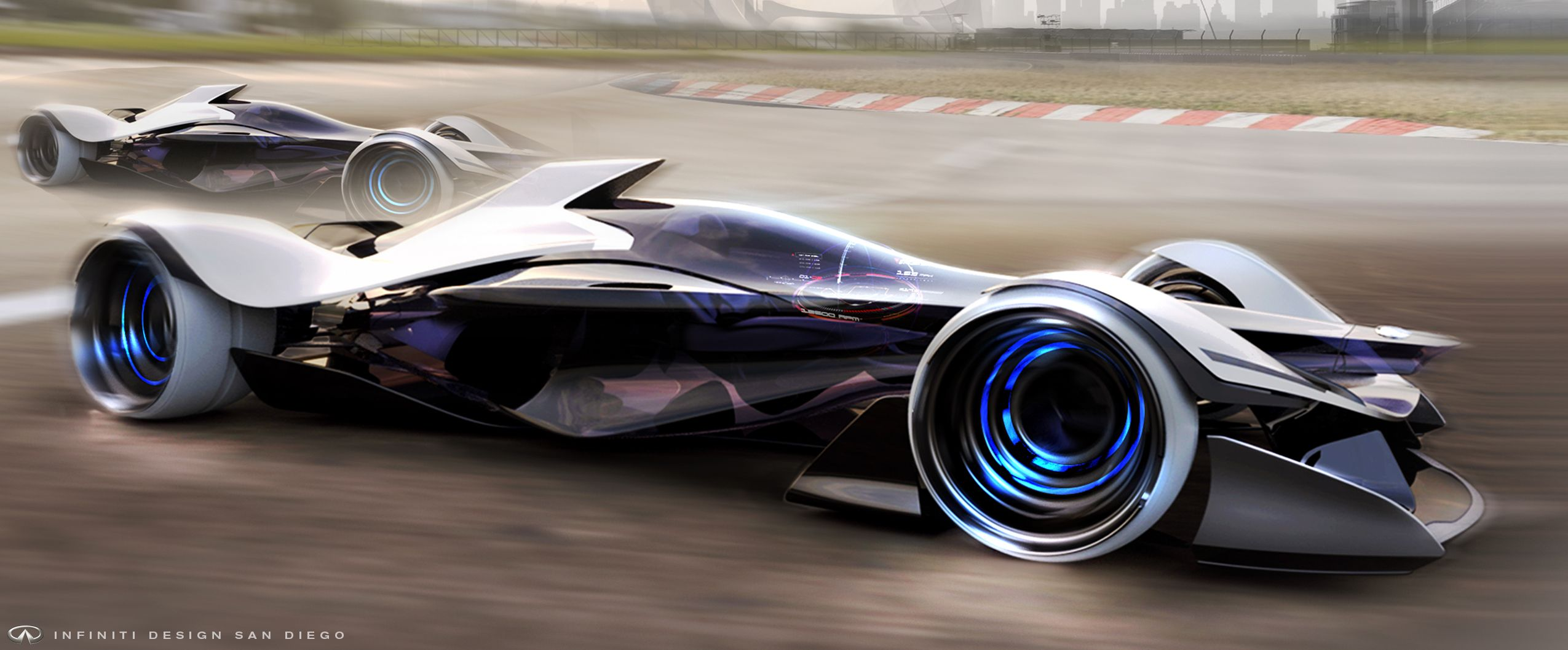 Infiniti San Diego >> Formula 1 Infiniti Design San Diego Presents Infiniti Synaptiq