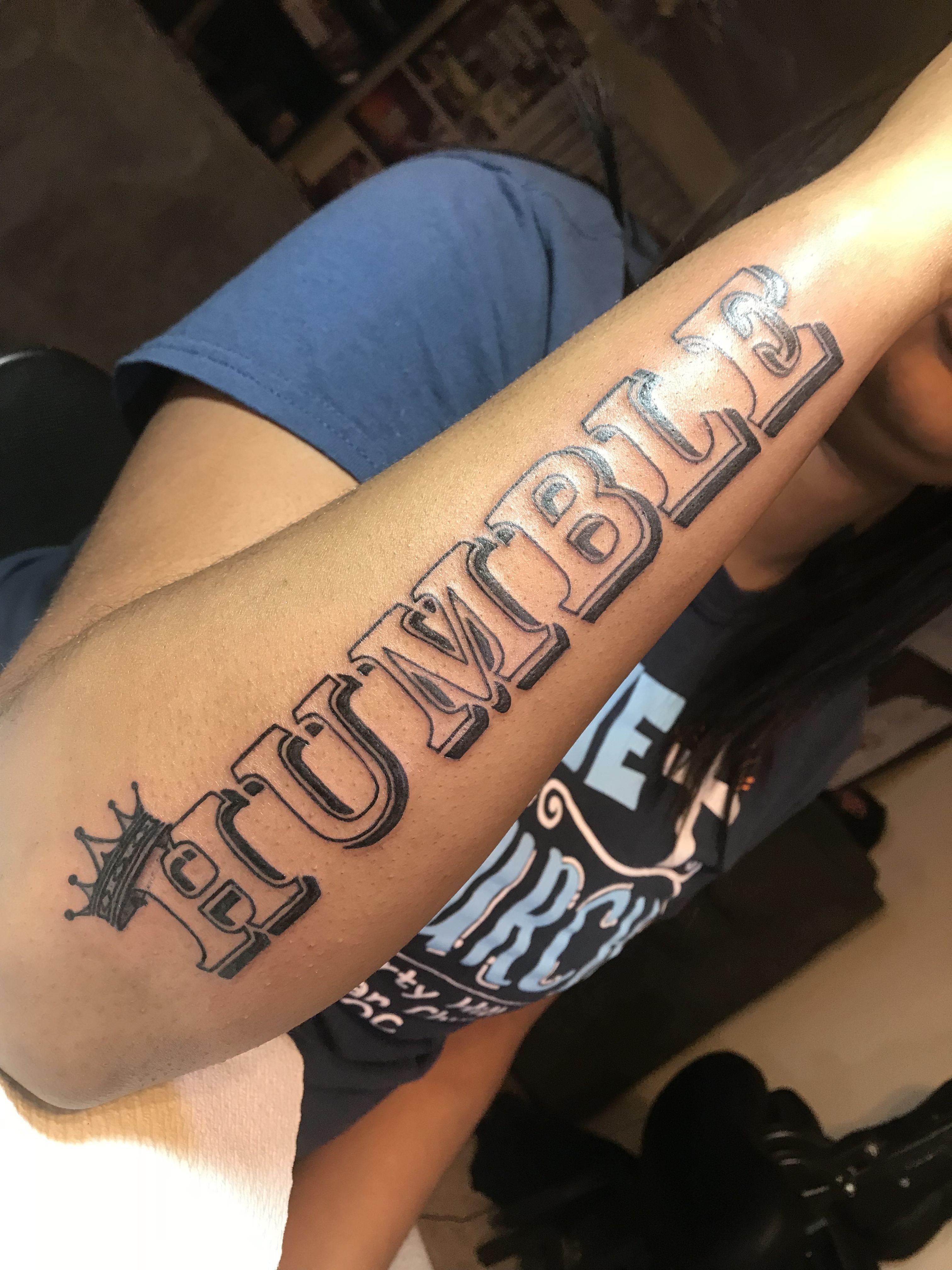 Humble Tattoo On Arm : humble, tattoo, ChubbInks, #AbzoluteInk, #Goodie803, #IveryJames, #Humble, #BusinessPartners, #BlackBusinesses, #Carolinas, #rapartist, #in…, Tattoos,, Rihanna, Tattoo,, Stylist, Tattoos