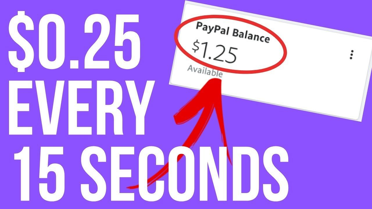 Free PayPal Money App: Earn $0.25 In Free PayPal Money ...