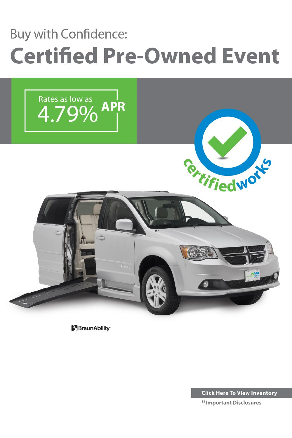 Wheelchair Van Van For Sale Vehicles Certified Pre Owned