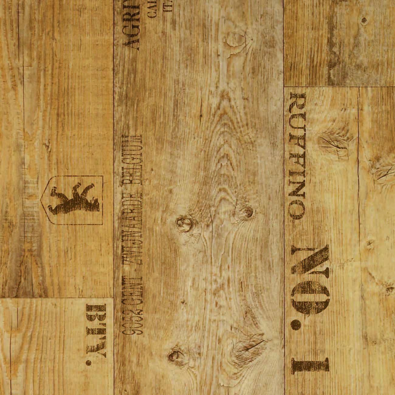 PVC MONDO - Planke Rustik beschriftet - 3 Meter   SÜDELBIEN ...
