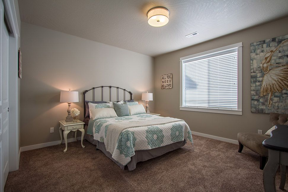 The Vintage by Hayden Homes - Bedroom - the Vintage offers 3 bedrooms and 2.5 bathrooms with 2,610 sq. feet.
