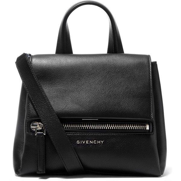 d7d0014b55 Givenchy Mini Black Pandora Pure Waxed Leather Cross-Body Bag ...