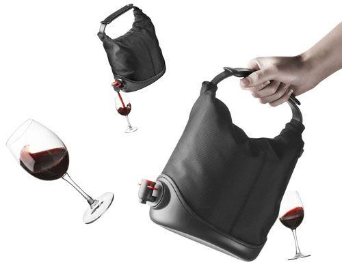 A Purse That Doubles As Wine Cask Win