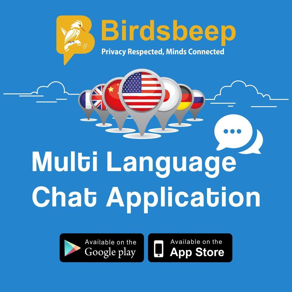 Download #BirdsBeep - Multilanguage Chat Application