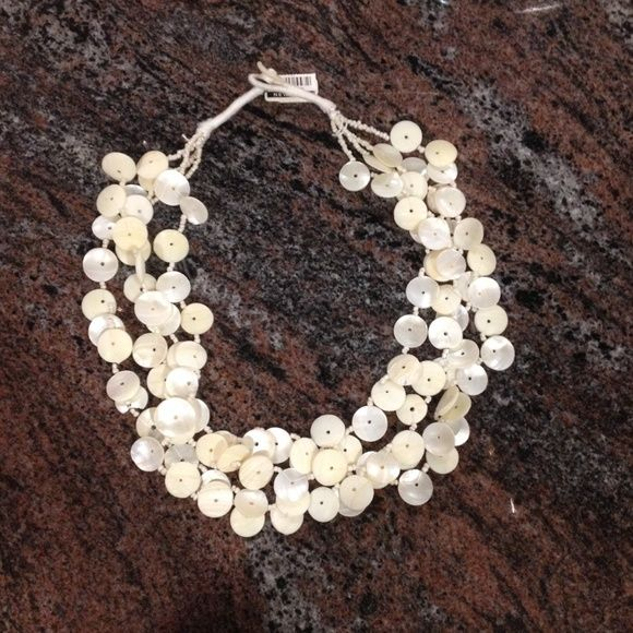 New York & Company Shell Necklace Brand new necklace that has been never worn New York & Company Jewelry Necklaces