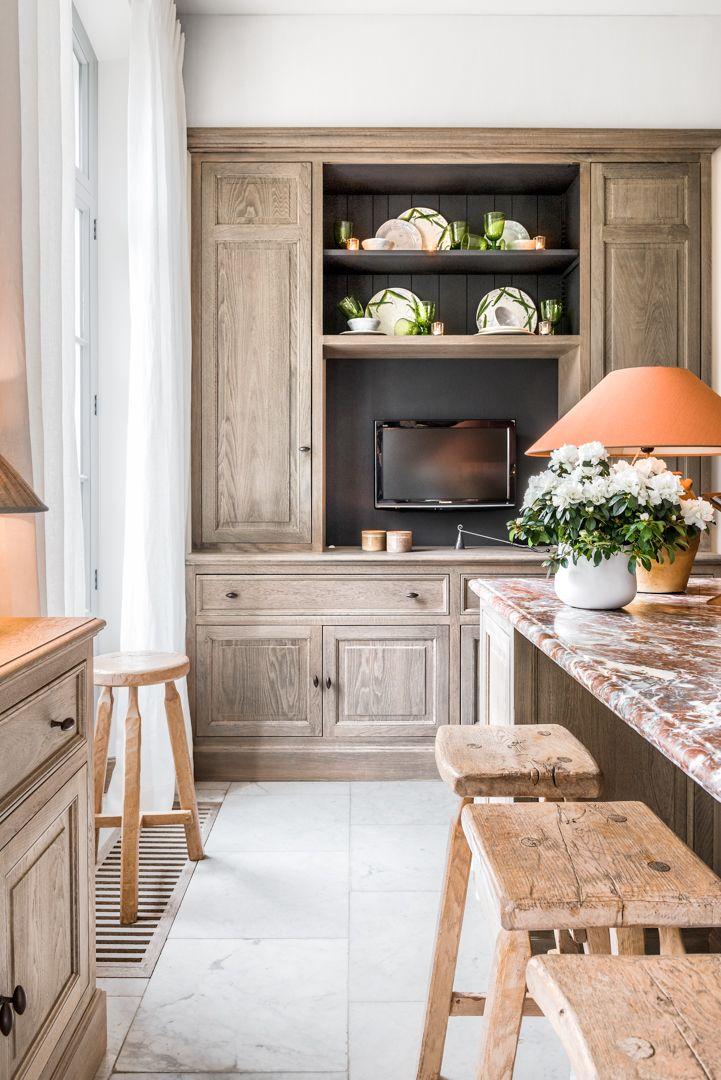 Custom made kitchen design - Lefèvre Interiors Belgium Belgian