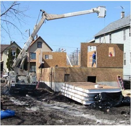 Structural insulated panels sips structural insulated for Building a house with sip panels