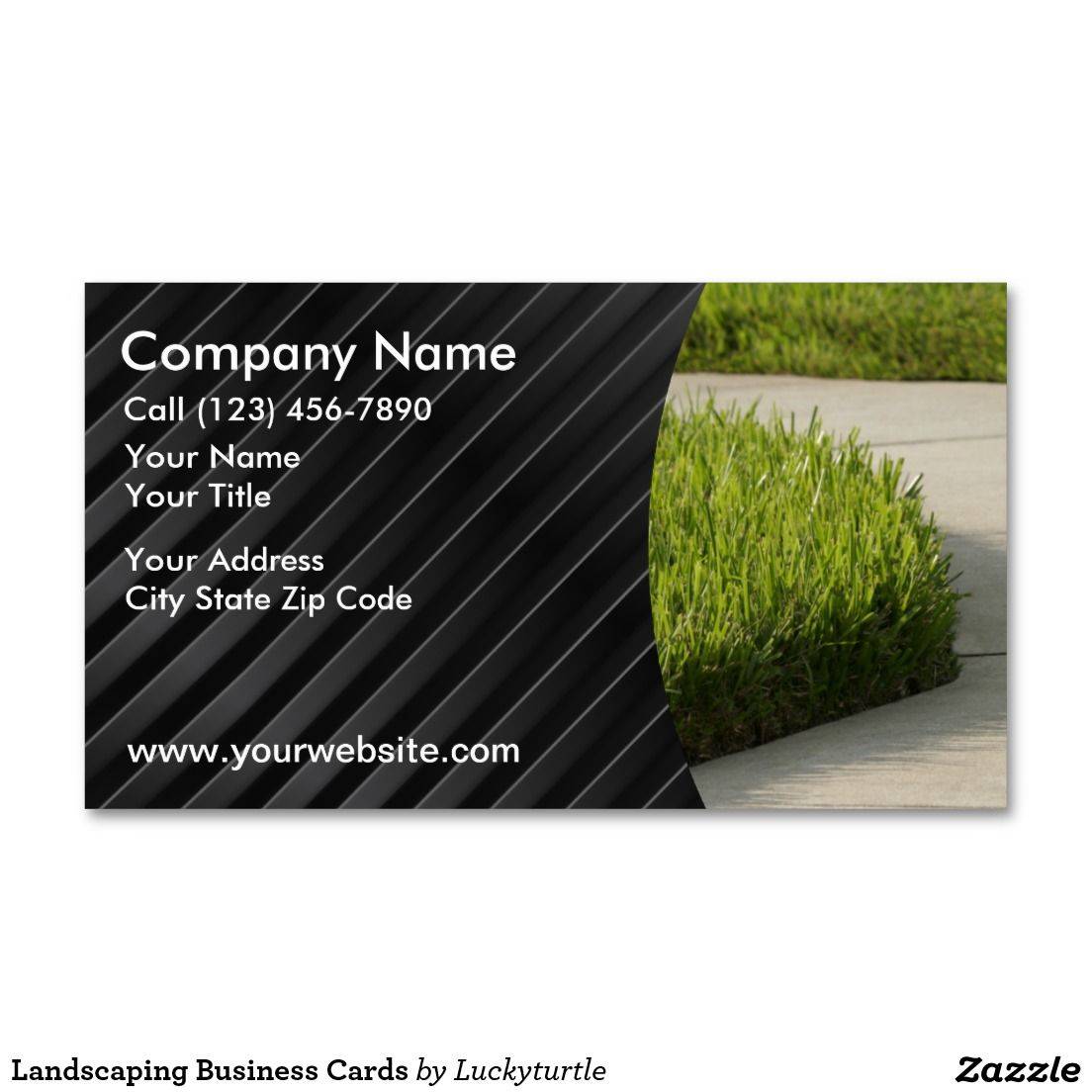 Landscaping Business Cards | Business Cards: Landscaping ...