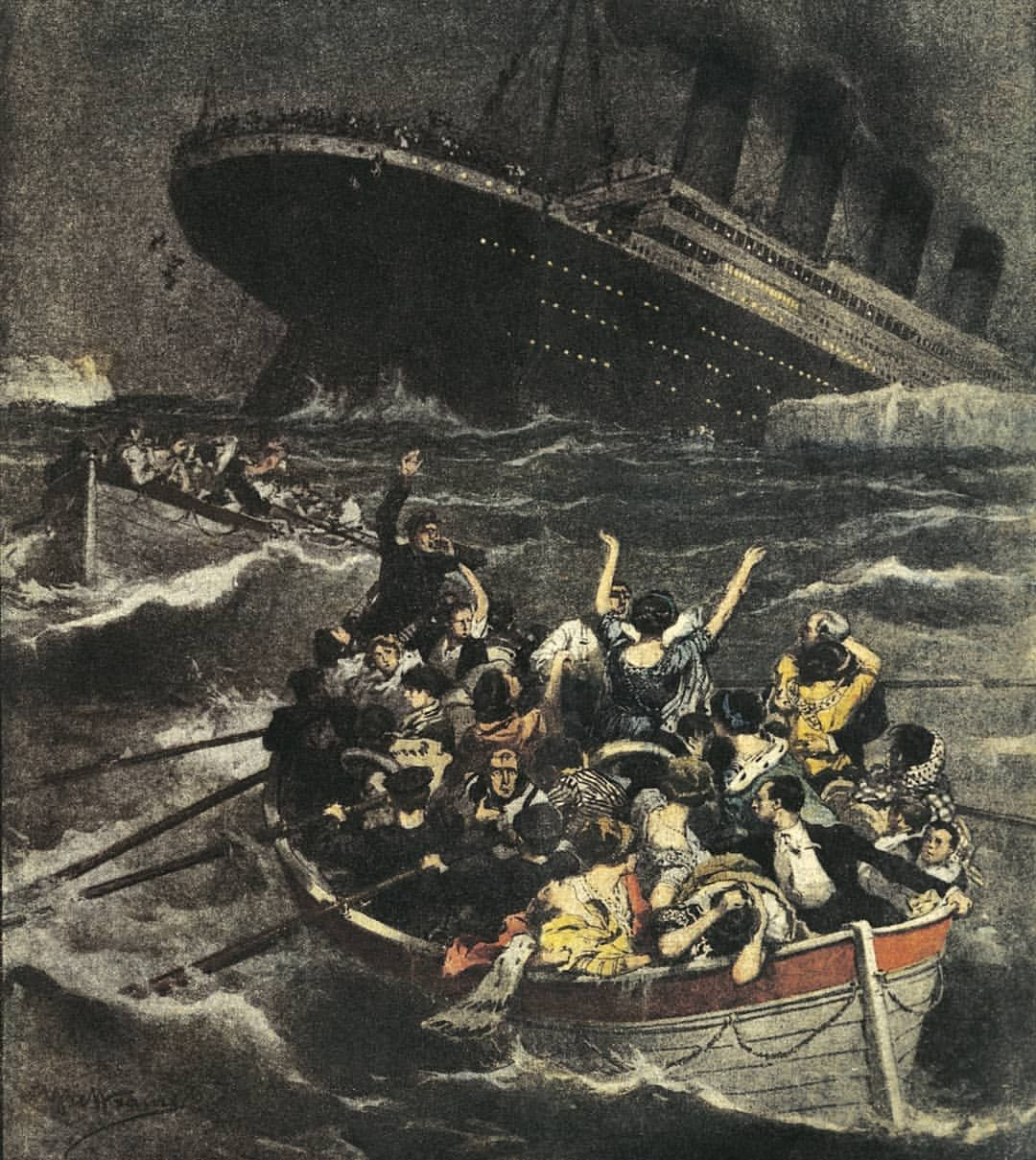 On Thisdayinhistory The Rms Titanic Billed As