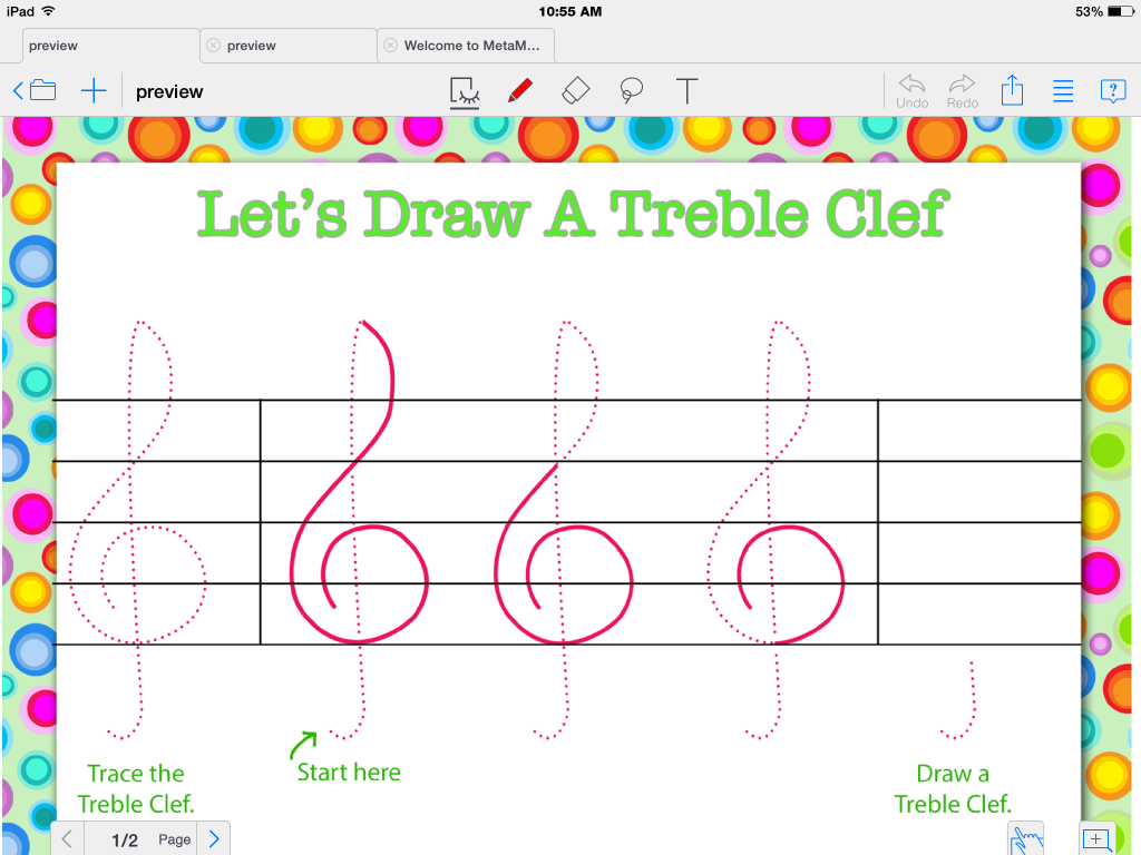MetaMoji Note an app for writing on the iPad and other