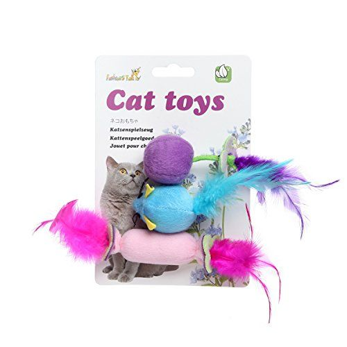 Fashions Talk Cat Catnip Toy Ball Hot Dog Feather Mice Toys For