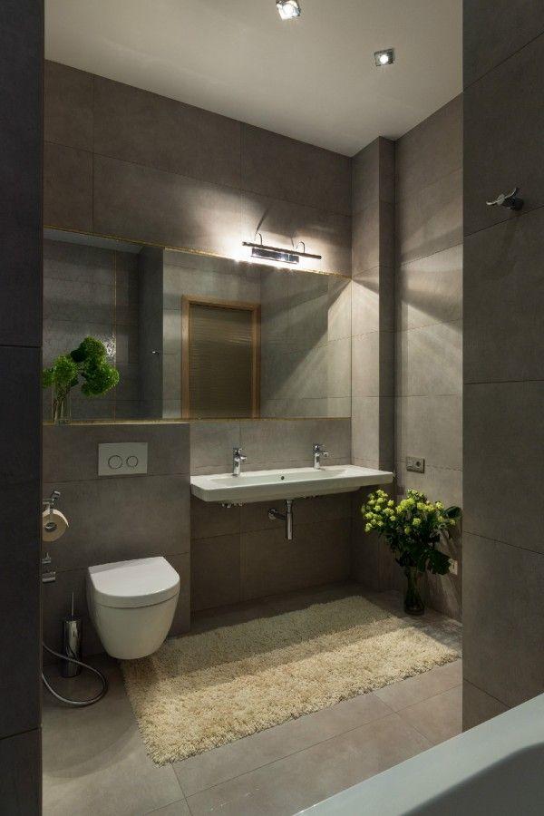 Spacious Apartment With Family Friendly Decor Modern Bathroom Bathroom Interior Bathroom Design