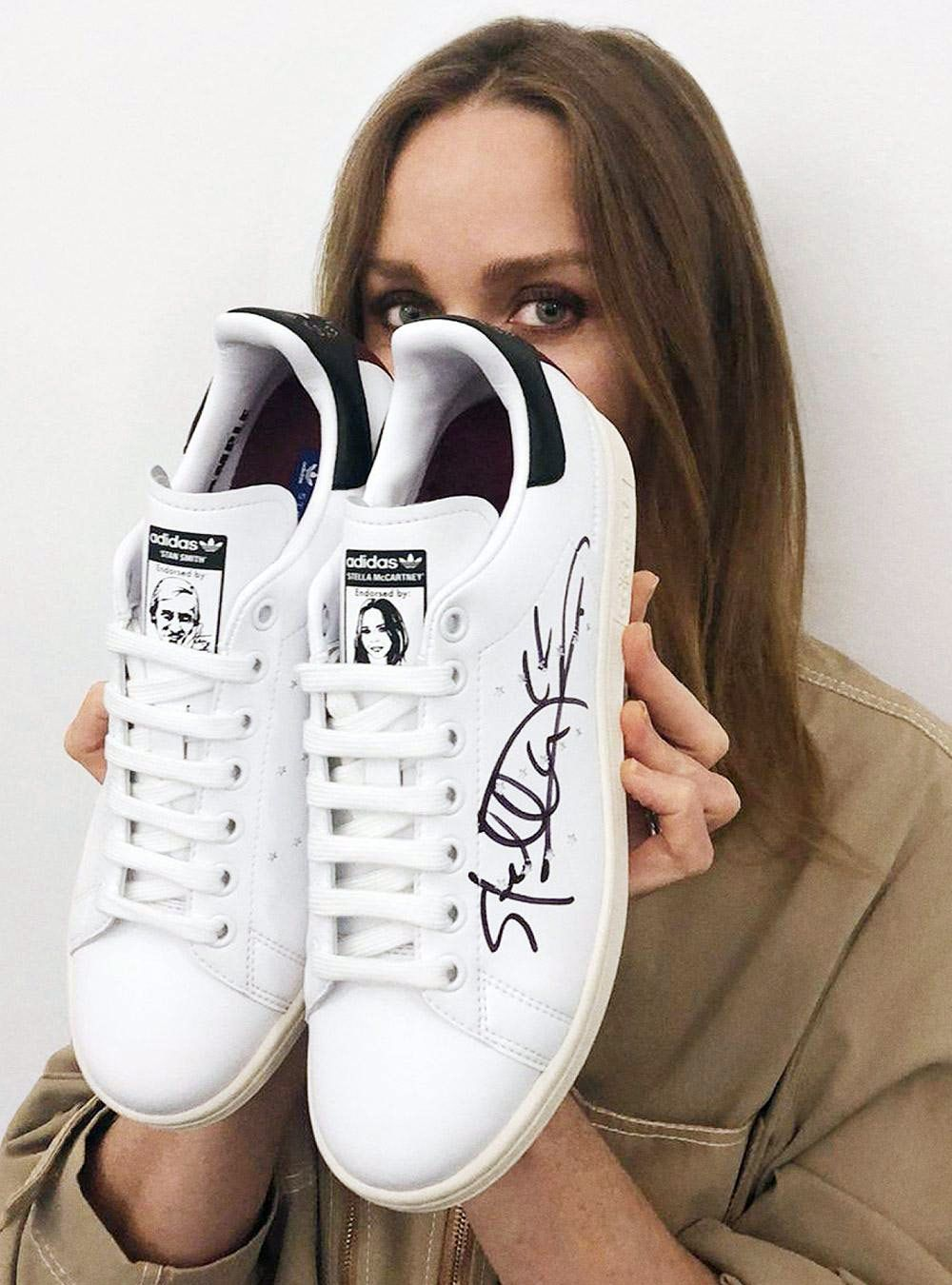 8119d251d670 Vegan Adidas Stan Smith Trainers By Stella McCartney – The Return Of A  Classic