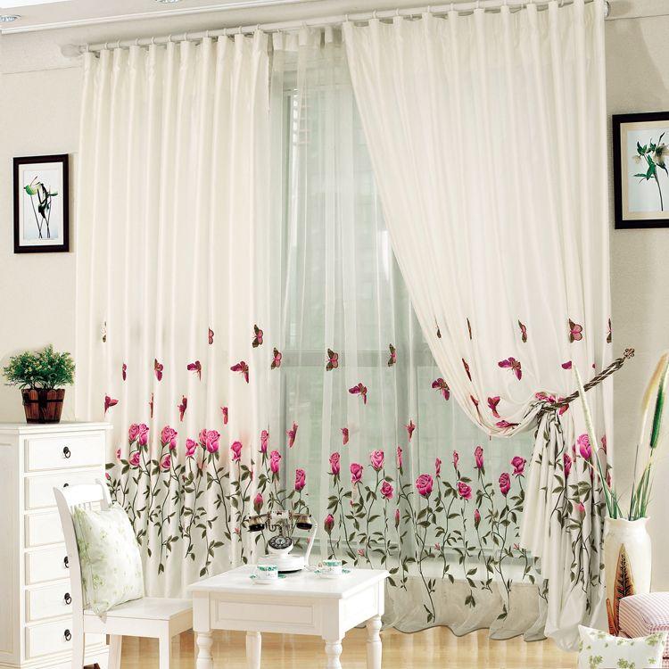 Barato Qualidade bordado seleção da janela do bordado tule ...