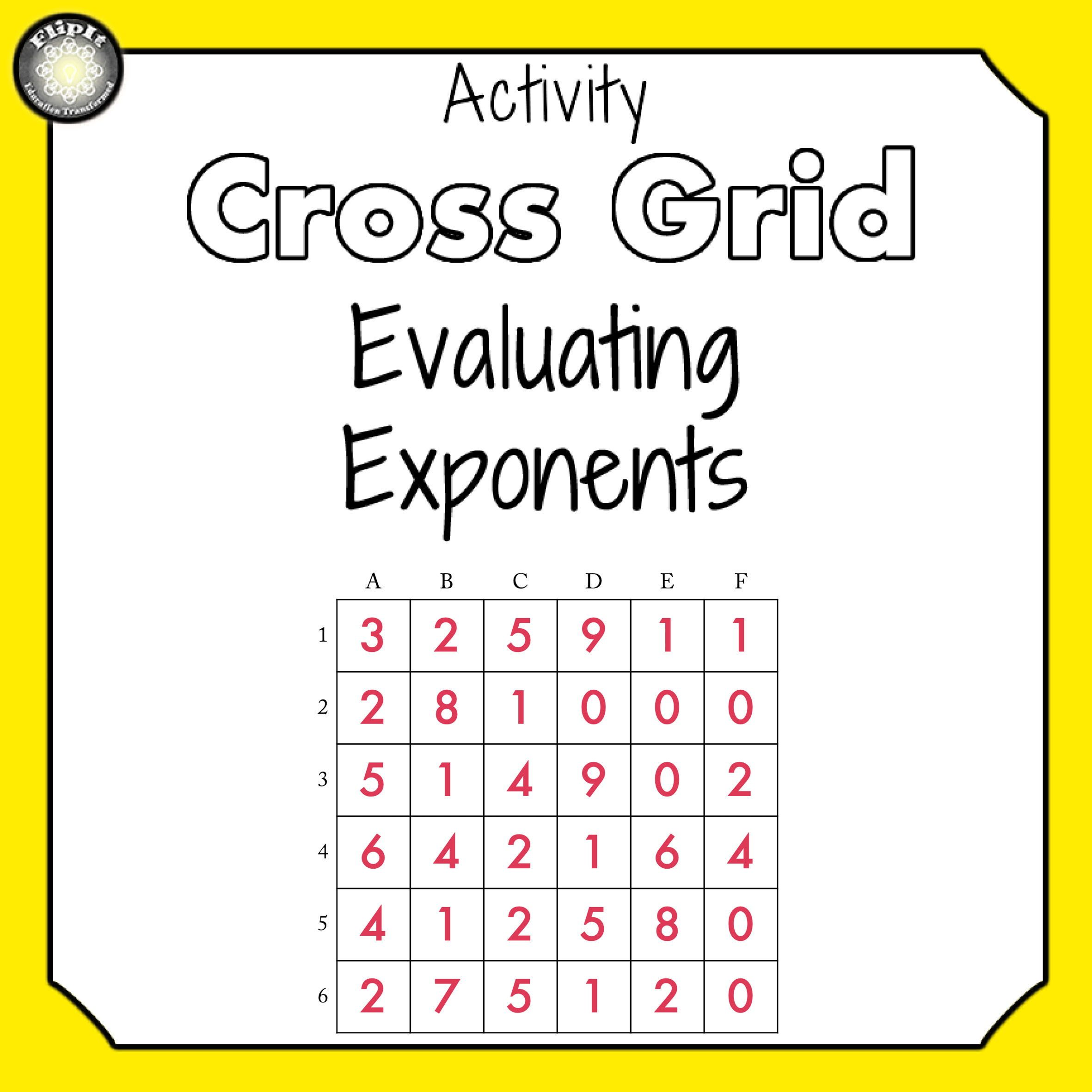 Exponents And Numbers In