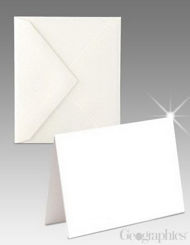 Blank White Glossy Matte Greeting Cards W Envelopes 8 Pt 5 5x 8 5 100 Pk Greeting Card Template Greeting Cards Card Templates Free