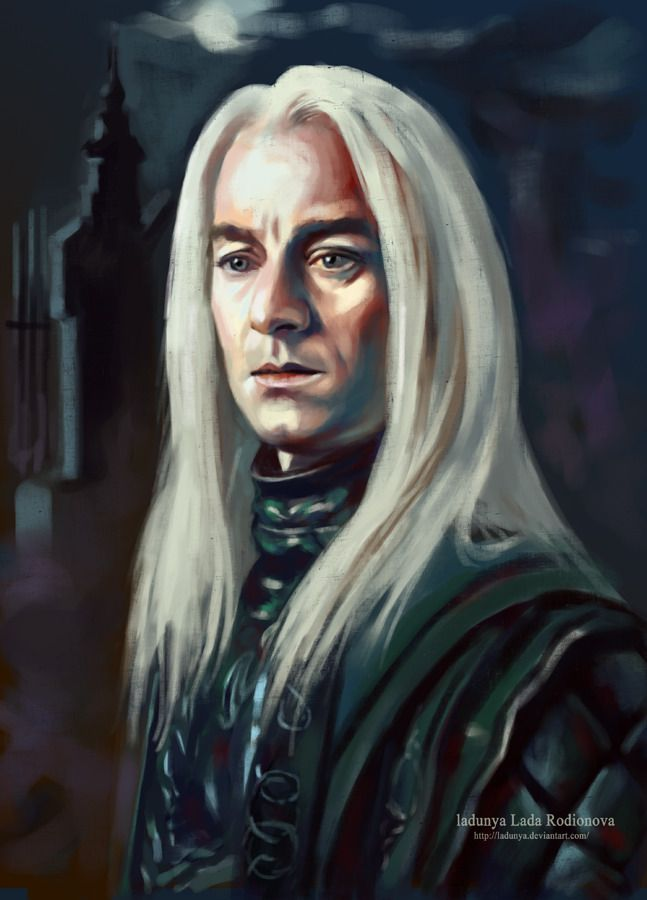 Lucius Malfoy 1954 July 2001 Younger Brother Of Morpheus And Father Of Draco Garri Potter Severus Snejp