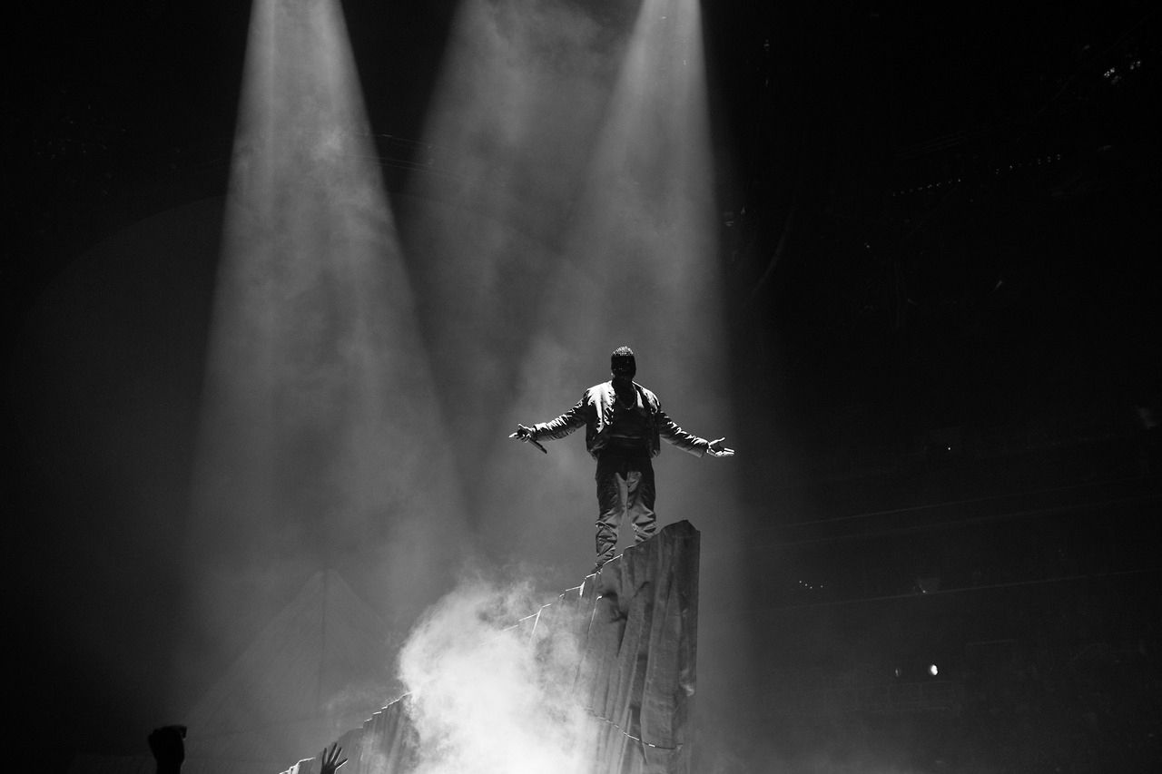 A Look At Kanye West S Yeezus Tour At The Barclays Center Kanye West Yeezus Kanye West Yeezus