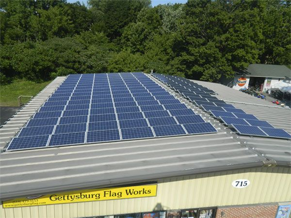 Gettysburg Flag Works Solar Panels Solar Solar Panels Solar Power System