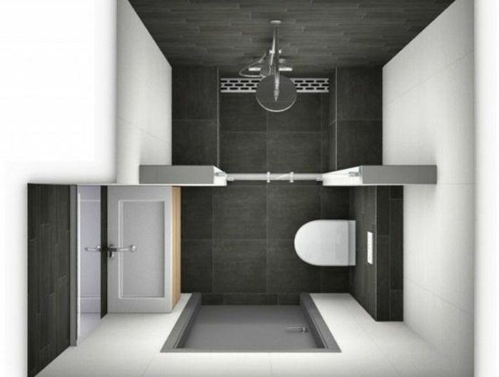 Comment am nager une salle de bain 4m2 bathroom pinterest salle de bain 3m2 petites for Amenager une petite salle de bain 3m2