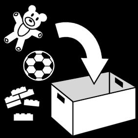 ranger les jouets eet horaire pinterest les jouets ranger et autisme. Black Bedroom Furniture Sets. Home Design Ideas