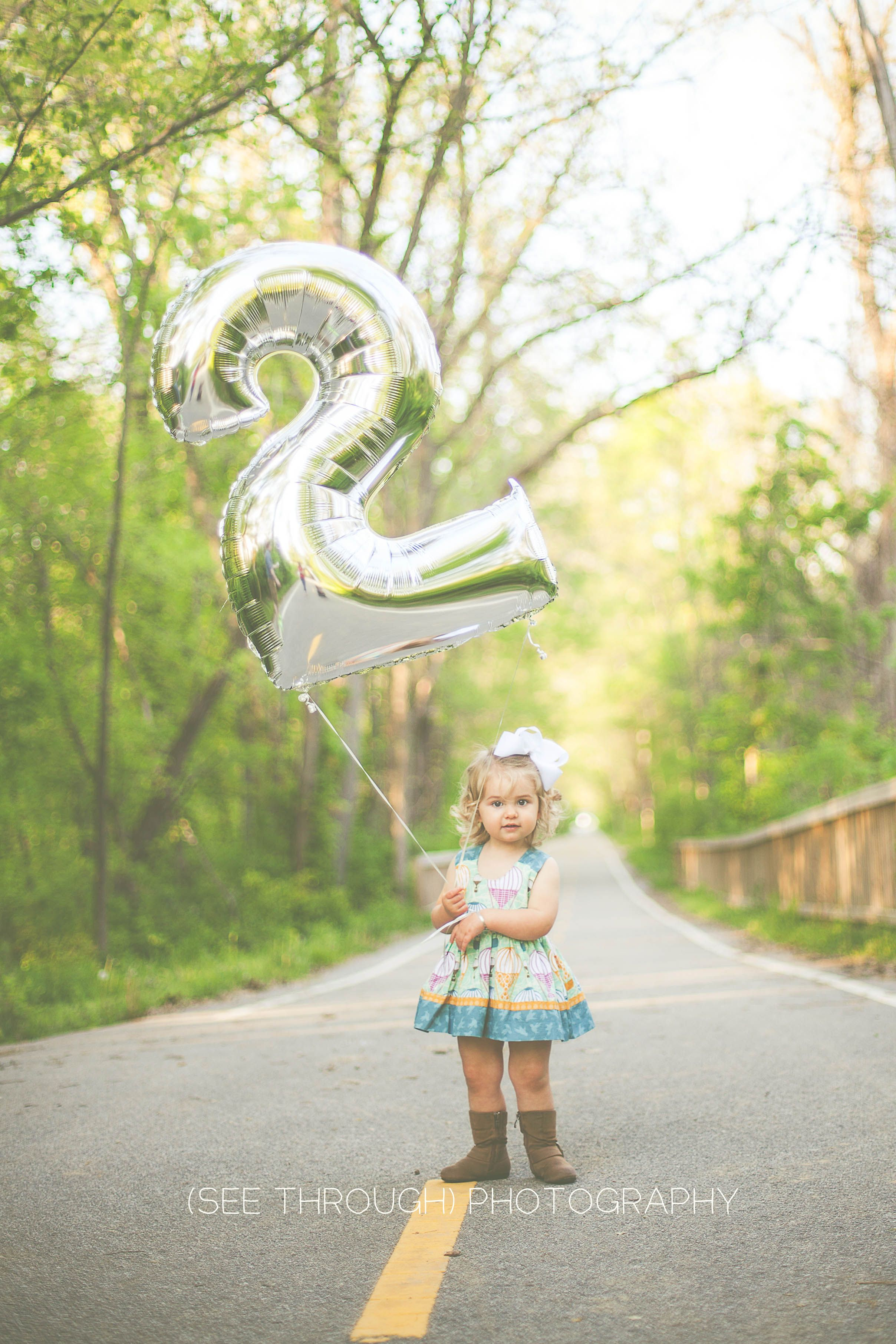 Two Year Old Girl Outdoor Session Photo Shoot