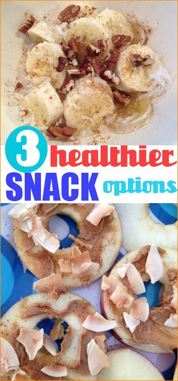3 Healthier Snack Options that are both kid and mommy approved.