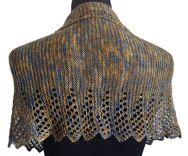 Ravelry: Godmothers Edging Shawl pattern by Pamela Young