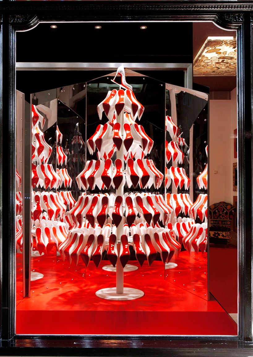 christian louboutin xmas tree