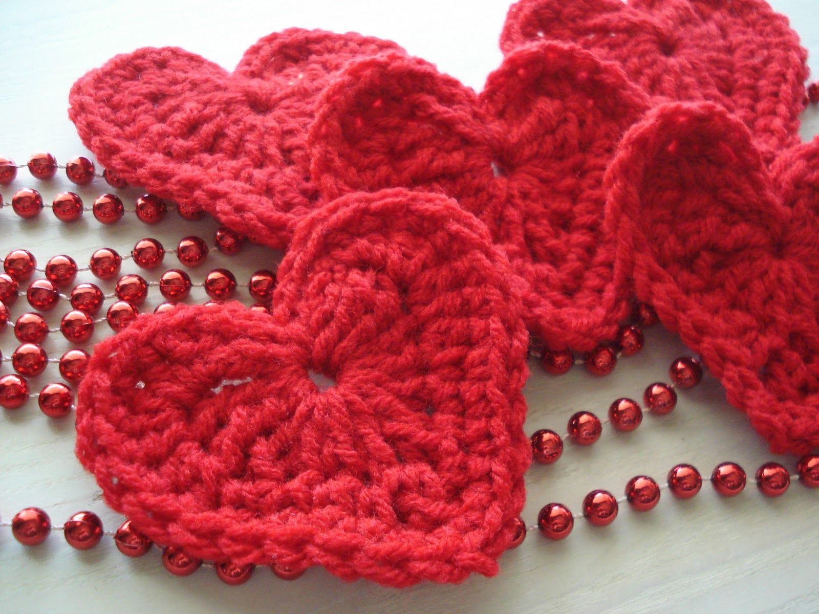 Red Heart Free Crochet Patterns | made a bunch of these little ...