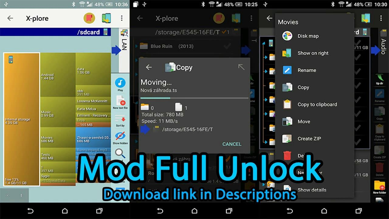 Xplore File Manager 4.16.14 APK MOD (Full Unlock) Android