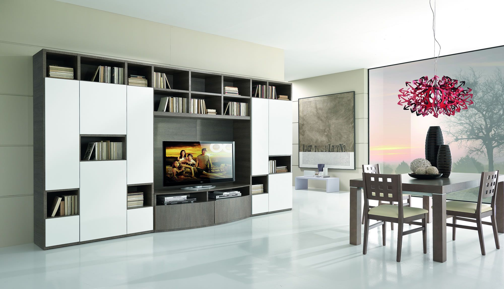 contemporary life in a home project www.giessegi.it/it/soggiorni ...