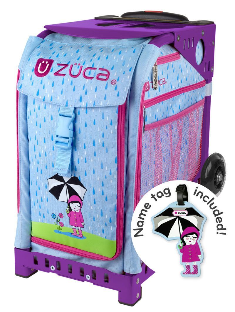 Zuca Bag Sport April Shower Insert and Purple Frame | Products ...